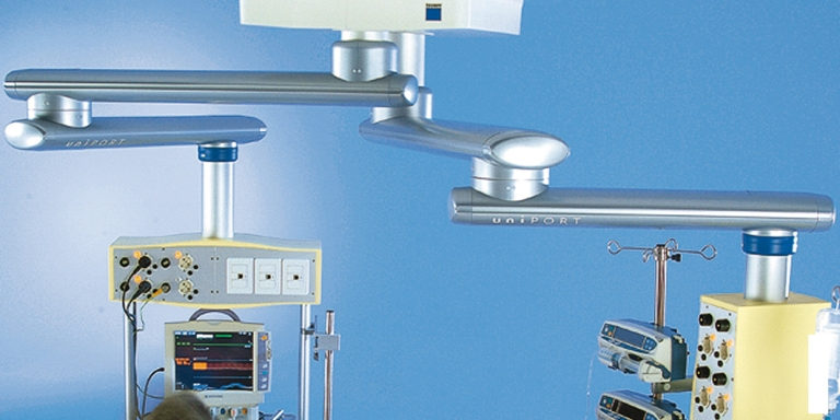 Радиально-упорные роликовые подшипники Shaeffler также применяются в диагностических столах, оборудовании для маммографии, рентген-аппаратах, операционных микроскопах