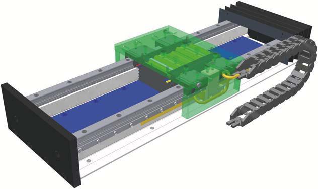 рельсовые каретки LTS с приводом линейного двигателя